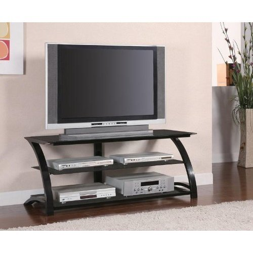 Coaster Home Furnishings 700664 Contemporary TV Console, Black