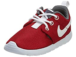 Nike TODDLER Roshe One Ps Td Gym Red Grey 13 SNEAKERS