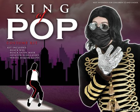 King of Pop Costume Celebrity Costume Musical Theatre Costumes