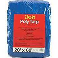 Do it Medium Duty Blue Poly Tarp-20X60 BLUE MED DUTY TARP