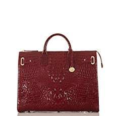 Business Tote<br>Carmine Red Melbourne