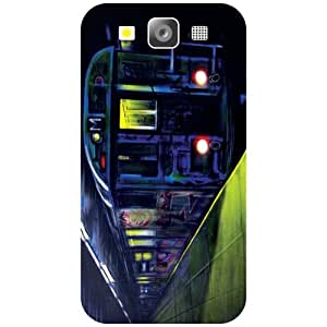 Samsung I9300 Galaxy S3 - Machine Matte Finish Phone Cover