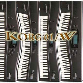 Find Cheap KORG 01/W Original Sound Library on CD