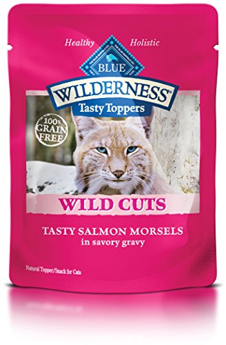 Blue Buffalo Wilderness Wild Cuts Tasty Toppers Salmon Adult