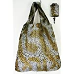 Trendy Shopping Tote Bag - Leopard Print Pattern (S5)