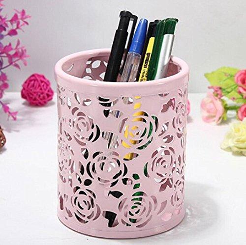 Niceeshop(tm) Hollow Out Blume Schreibtisch Stift Organizer ... Blumen Behaltern Zu Hause