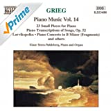 Grieg: Piano Transcriptions Of Songs, Op. 52 / 23 Small Pieces /