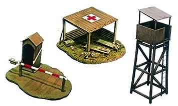Italeri - I6130 - Maquette - Figurine - Bâtiments de Champ de Bataille - Echelle 1:72
