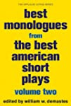 Best Monologues from The Best America...