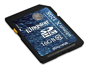 Kingston Secure Digital High Capacity (SDHC) Card 16GB Speicherkarte (Retailverpackung)