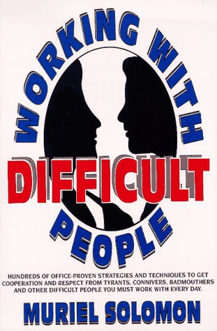 Image for Working With Difficult People