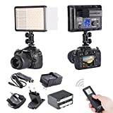 Bestlight® Photo Studio LED308C 308PCS LED Ultra High Power Dimmable Video Light with 16CH Wireless Remote Control, including A 4IN1 Battery Wall & Car Charger and A Replacement Lithium Battery for Sony NP-F970 thumbnail