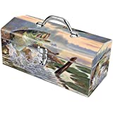 Sainty Art Works 24-707 Buzz Off Art Deco Tool Box