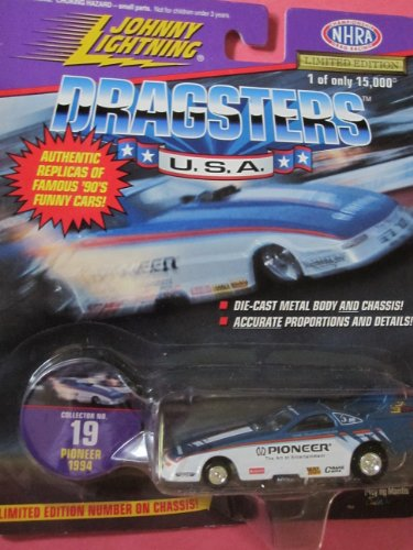Johnny Lightning Dragsters Pioneer Stereo #19 Limited Numbered Edition
