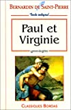 BERNARDIN ULB PAUL VIRGINIE NP (Ancienne Edition)