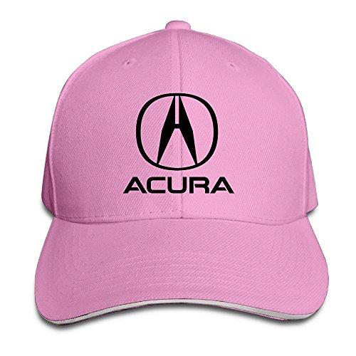 trithaer-acura-emblem-adjustable-hunting-peak-sandwich-ha-cap-pink-taglia-unica