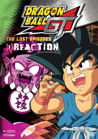 Dragon Ball Gt 1: Lost Episodes - Reaction [Reino Unido] [DVD]
