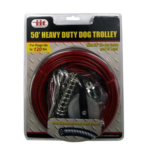 IIT 99915 Heavy Duty 50 foot Dog Trolley
