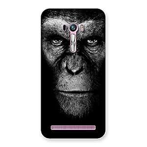 Stylish Chimp King Black Back Case Cover for Zenfone Selfie