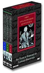 The Unanswered Question - Six Talks at Harvard by Leonard Bernstein