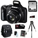 Canon PowerShot SX170 IS 16MP Digital...