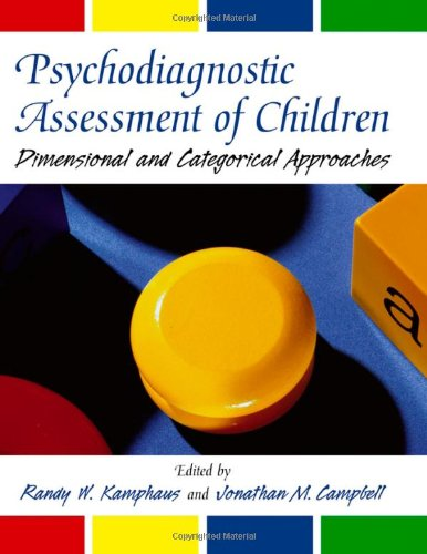Psychodiagnostic Assessment of Children: Dimensional and...
