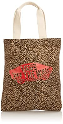 Vans Canvas, Women's Tote Bag, Leopard, One Size