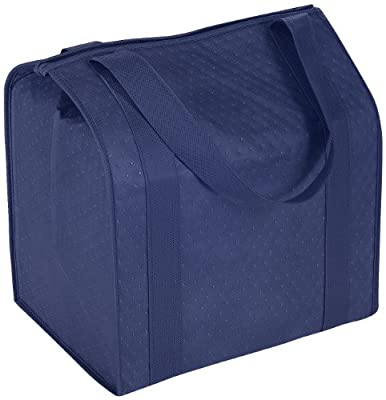 Hannah Insulated Shopping Bag, Navy