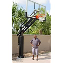 Pro Dunk Diamond: Ultimate Adjustable In-Ground Basketball Goal System with 72 Inch... by Pro Dunk