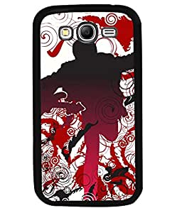 PrintVisa Metal Printed Music Designer Back Case Cover for Samsung Galaxy Grand 2 G7102-D4707