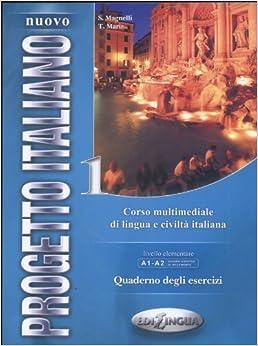 Nuovo Progetto Italiano 1: Corso Multimediale Di Lingua E Civilta