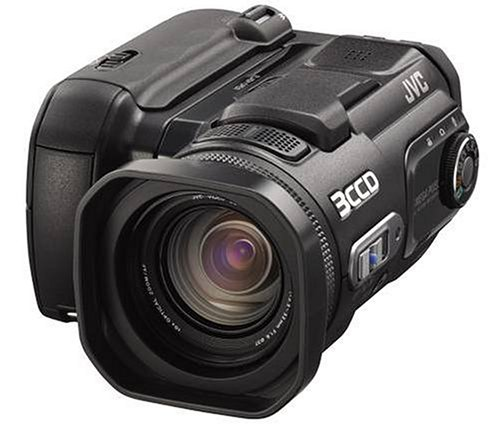 Jvc Everio Gzmc500 5Mp 3Ccd 4Gb Microdrive Camcorder W/10X Optical Zoom
