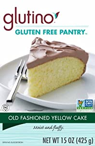 Glutino Gluten-Free Pantry Old Fashioned Cake and Cookie Mix, 15-Ounce Boxes (Pack of 6)