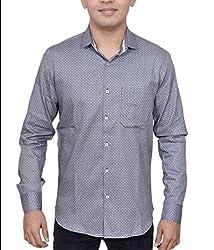 Ivory Men's Casual Cotton Shirt