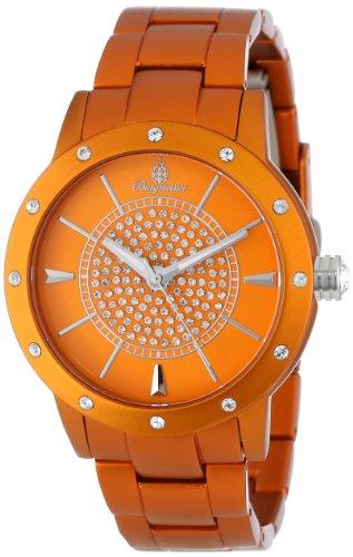 Burgmeister Crazy Color Women's Quartz Watch with Orange Dial Analogue Display and Orange Bracelet BM164-090B