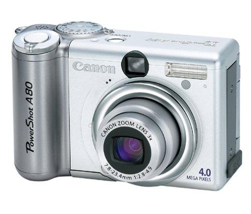 Canon PowerShot A80 4MP Digital Camera w/ 3x Optical Zoom