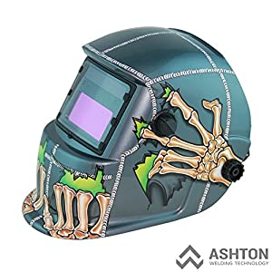 Commercial 115v Mig 130 135 Amp Automatic Feed Flux Core Gasless Welder Mig-135aw Helmet AWT-FG2 Kit by ASHTON WELDING TECHNOLOGY