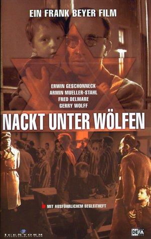 Nackt unter Wölfen [VHS]