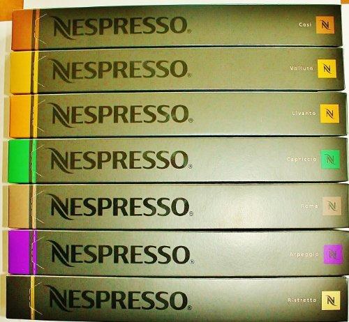 Shop for 70 Nespresso Espresso Variety Capsules - Nespresso