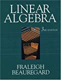 Linear Algebra, Third Edition (0201526751) by John B. Fraleigh