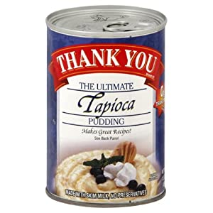 Thank You Pudding Tapioca Pudding, 15.5-Ounce (Pack of 6)