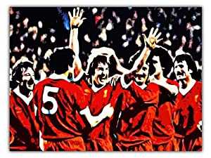 Kenny Dalglish Liverpool Fc Poster Art Print 60x40cm by AUSTERITY ART
