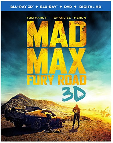 Mad Max: Fury Road (3D Blu-ray + Blu-ray + DVD +UltraViolet Combo Pack)