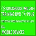 Software Video Learn Intuit QuickBooks Pro 2014 Training DVD Sale 60% Off training video tutorials DVD Over 8 Hours of Video Training