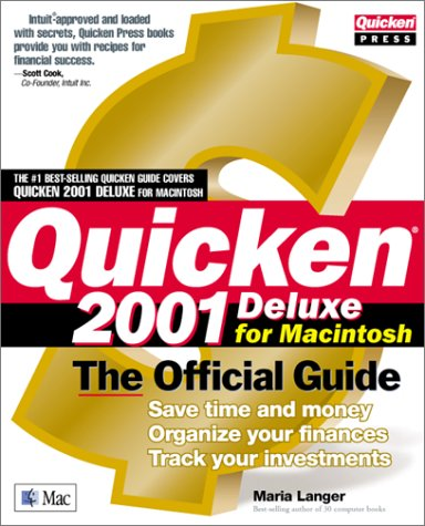 Quicken 2001 for the Mac: The Official Guide