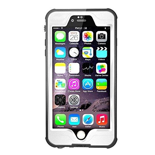 Merit iPhone 6s plus /6 plus 対応 フルプロテクションカバー 防水 防塵 耐衝撃 ケース ホワイト