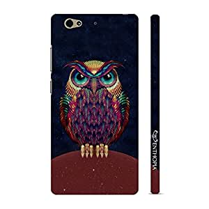 Enthopia Designer Hardshell Case Angry Insomniac Back Cover for Gionee S6