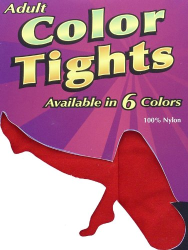 Adult Red Tights - Womens Small
