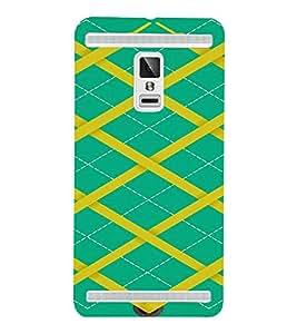 PrintVisa Modern Art Dark Pattern 3D Hard Polycarbonate Designer Back Case Cover for VivoX3S