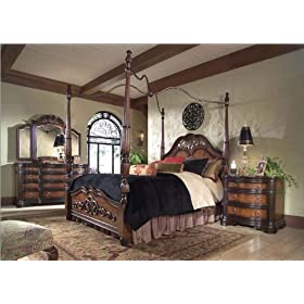 Magnussen Furniture 79366 Series/79330 Stafford Canopy Bedroom Set